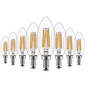 5x 4W Dimmbar E14 Glühbirne LED Edison Lampe Vintage Filament Birne 2700K