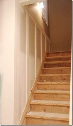 Basement Stairs Wall Decor Wainscoting 17 Best Ideas Basement Remodeling Basement Design Stairs Trim