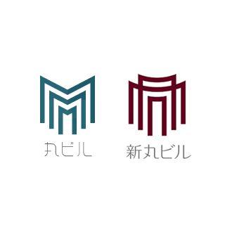 よく見ると牛 タイポグラフィのロゴ 漢字ロゴ ロゴ