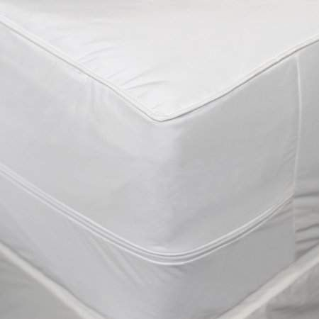 Allerease 2 In 1 Mattress Pad With Removable Hot Water Washable Top Pad Walmart Com Mattress Pad Mattress Waterproof Mattress Pad