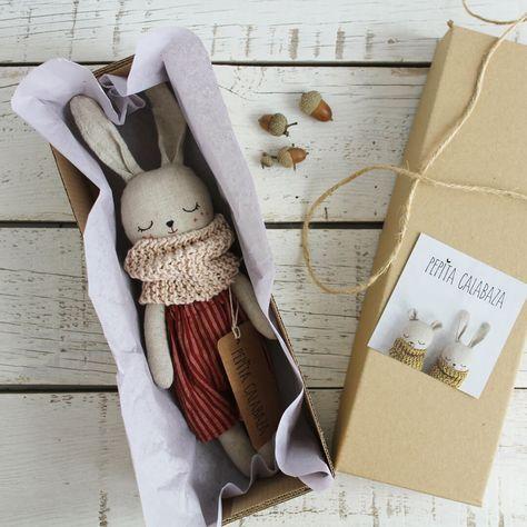 Product of the month: Handmade bunny dolls by Pepita Calabaza - Lunamag.com
