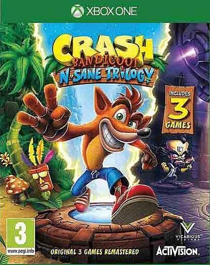 משחק לאקס בוקס וואן Crash Bandicoot N Sane Trilogy 130 Crash Bandicoot Bandicoot Nintendo