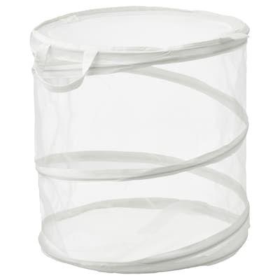 Fyllen Panier A Linge Blanc Ikea In 2020 White Laundry Basket Laundry Basket Ikea