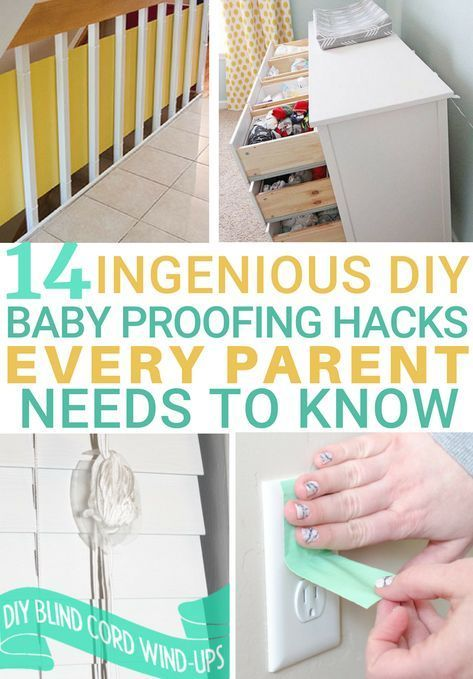 14 Ingenious Diy Baby Proofing Home Hacks Every Parent Needs To Know For Parents Expecting The Arrival Of A Baby Proofing Baby Proofing Hacks Diy Baby Stuff