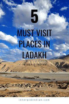 5 Must visit places in ladakh #Ladakh #travel #travelblogger #Leh #mustvisitplacesinladakh #Himalayas