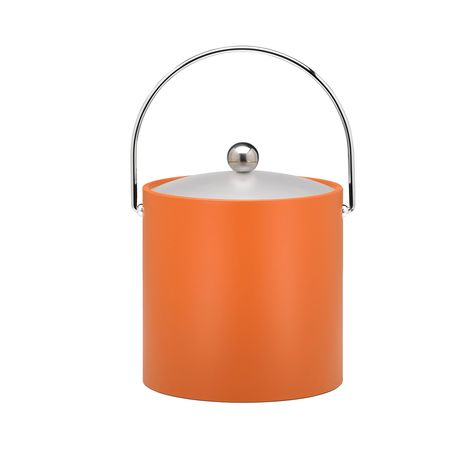 Fun Colors 3-quart Ice Bucket with Lucite Lid