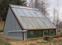 Solar Sunspaces and Greenhouses - FREE plans for all types of greenhouses - large and small