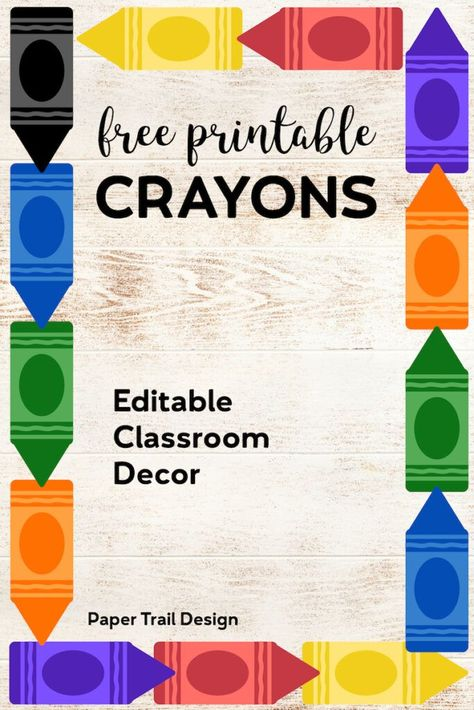image relating to Free Printable Classroom Decorations named Checklist of Pinterest clroom doorway back again towards faculty absolutely free