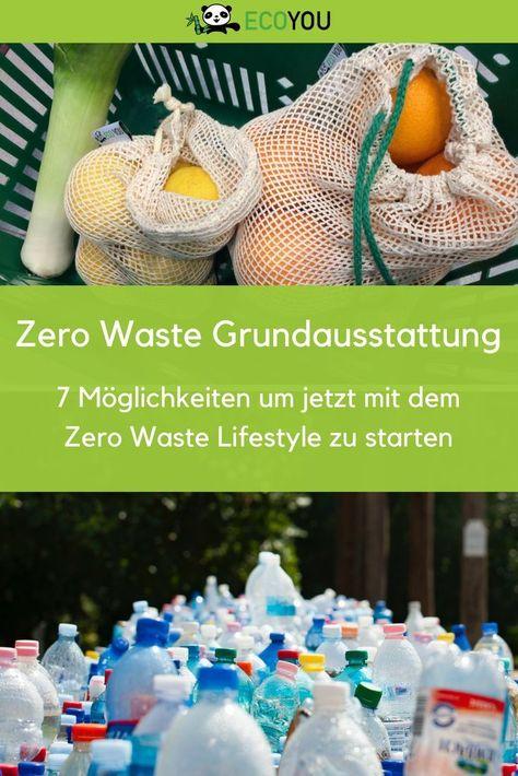 Zero Waste Grundausstattung - 8 Mal Müll vermeiden