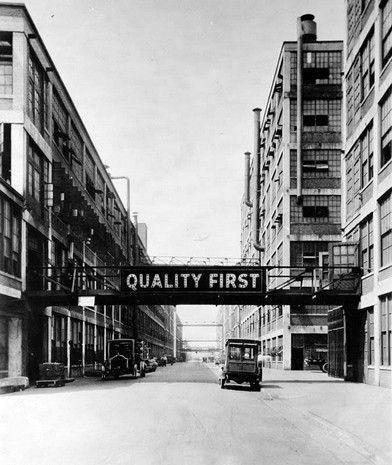 Packard Avenue.