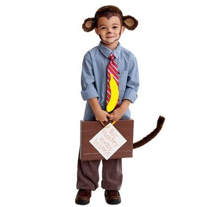 Halloween Ideas  Activities Pinterest Monkey business, Monkey - scary homemade halloween costume ideas