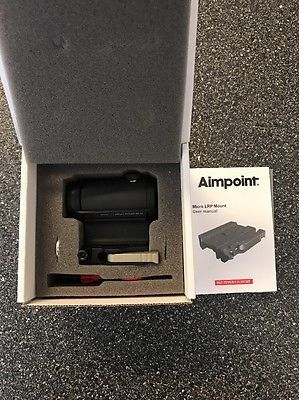 675 00 Aimpoint Micro T 1 Red Dot Sight 2 Moa Lrp Mount 39mm