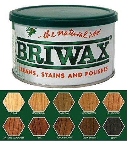 Briwax Tudor Brown Furniture Wax Polish Cleans Stains And Polishes Dark Oak Furniture Furniture Wax Rustic Pine Furniture
