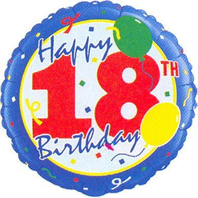18 Happy 18th Birthday Foil Balloon Qualatex For Party Check Out The Image By Visiting Link This Is An Affiliate