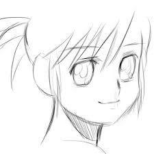Comment Dessiner Un Manga Facile Art Pinterest Anime Sketch