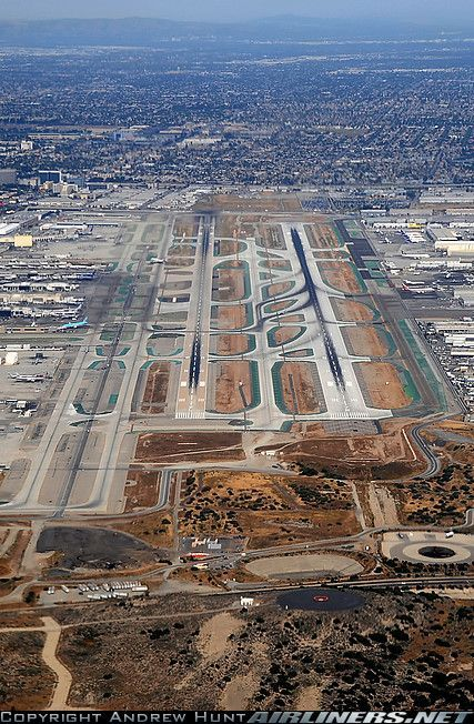 Lax From The Air Los Angeles International Airport Lax Is The Primary International Cargo Airport Ser Aerial View Pictures Los Angeles International Airport