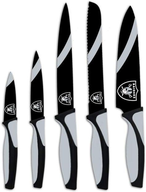 Oakland Raiders 5-Piece Cutlery Knife Set