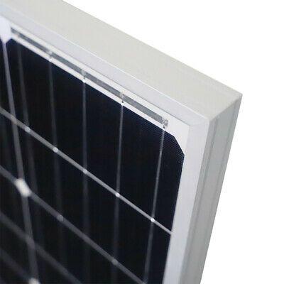 100w Solar Panel 100 Watt Module Monocrystalline 12v Newpowa Camping Rv Marine In 2020 Solar Panels Solar 12v Solar Panel