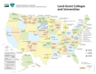 History of Land-Grant Colleges and Universities