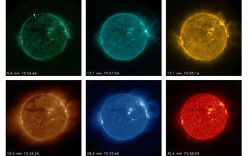 Detecting Solar Flares In Real Time In 2020 With Images Solar Flare Solar Activity Solar Telescope
