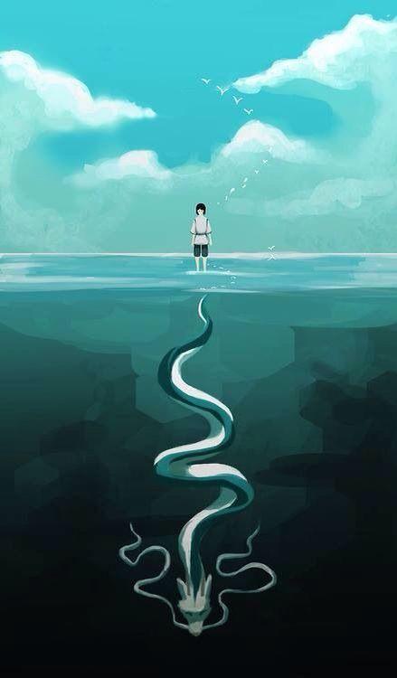 Resultado De Imagem Para Viagem De Chihiro Wallpaper Iphone Art Studio Ghibli A Viagem De Chihiro Filmes Studio Ghibli