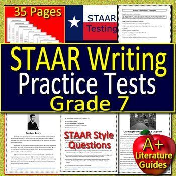 7th Grade STAAR Writing Test Prep Passages And Questions