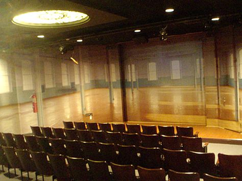 Our theater located in the Pawtucket Visitors' Center across the street from Slater Mill