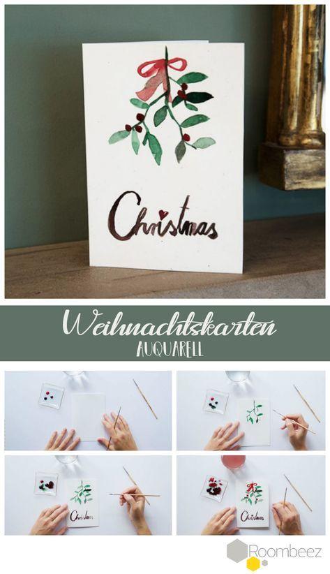 Weihnachtskarten Basteln 4 Kreative Anleitungen