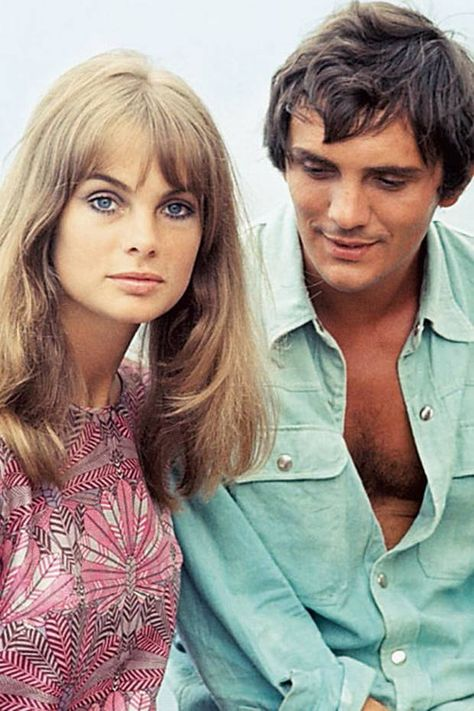 Terence Stamp with Jean Shrimpton in 1965 - London Evening Standard