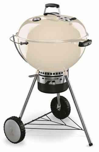 Master Touch 57 Cm Weber In Ivory White Charcoal Bbq Weber Bbq Weber Charcoal Grill