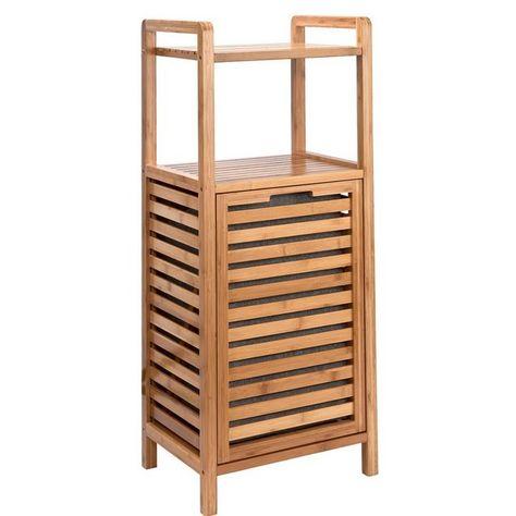 Big Bamboo Regal Mit Waschekorb In 2020 Waschekorb Regal 25