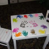 Great table & chairs for School Auction