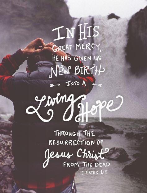 His Word - Typographic Verses #Jesus