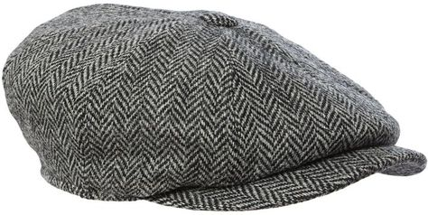 b7fc9a8661b Failsworth Harris tweed baker boy hat