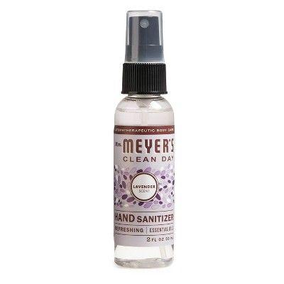 Mrs Meyer S Clean Day Lavender Scent Hand Sanitizer 2oz Hand Sanitizer Lavender Scent Scented Hand Sanitizer