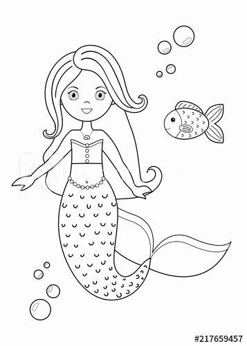 Cartoon Mermaid Coloring Pages Unique Cartoon Mermaid Coloring Pages Mermaid Coloring Pages Mermaid Coloring Book Hello Kitty Colouring Pages