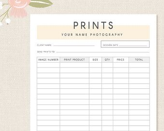 Invoice Template Photography Invoice Business Invoice Receipt