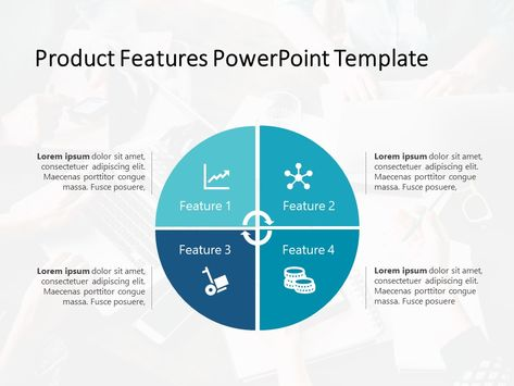 Product Features Powerpoint Template 6 Product Features Powerpoint Templates Slideuplift Powerpoint Templates Powerpoint Slide Templates Powerpoint