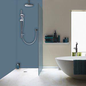 Acrylic Shower Panels Bathroom Wall Panels The Plastic People Shower Panels Pvc Bathroom Panels Bathroom Wall Panels