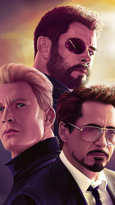 Marvel Top 3 Avengers IPhone Wallpaper - IPhone Wallpapers