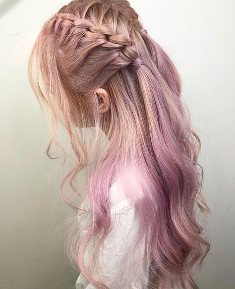 45 Fabulous Braid Hairstyle Ideas For Girls Nowadays – – Hairstyles Theme Box Braids Hairstyles, Pretty Hairstyles, Girl Hairstyles, Hairstyle Ideas, Kawaii Hairstyles, Long Hairstyles For Girls, Sponge Hairstyles, Braided Hairstyles For Long Hair, Easy Hairstyle