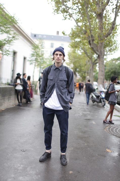 They Are Wearing: Paris Fashion Week Men's street style.