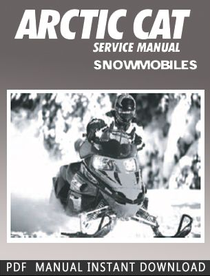 2000 Arctic Cat Snowmobile Service Repair Manual Download Service Manuals Club Repair Manuals Manual Owners Manuals