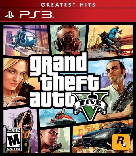 4571da859 Grand Theft Auto V GTAV GTA5 Playstation 3 PS3 Sony Rockstar Games  Videogame FREE & FAST SHIPPING #ebay #Canada #GTAV #GTA5 #GrandTheftAuto  #PS3 ...