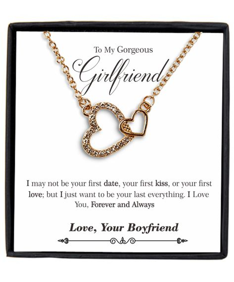 To My Gorgeous Girlfriend Necklace