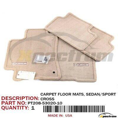 Ad Ebay 02 05 Lexus Is300 Factory Oem Pt208 53020 10 Logo Carpet Floor Mat 4pc Set Ivory In 2020 Lexus Is300 Lexus