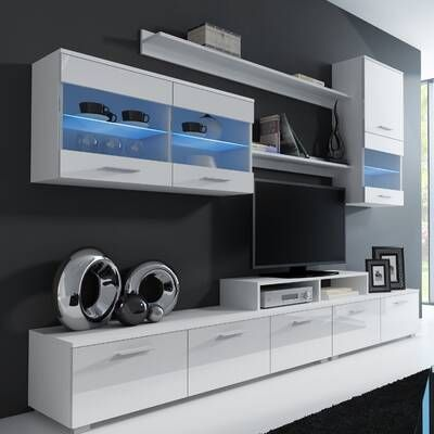 Masie Floating Entertainment Center For Tvs Up To 85 In 2020