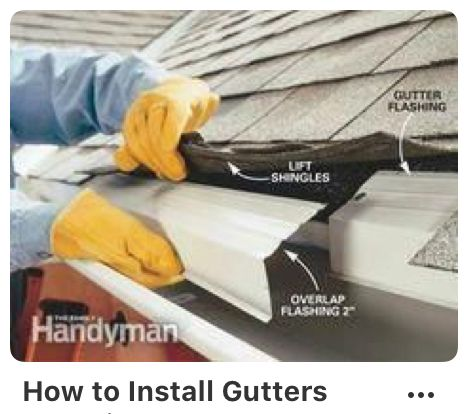 Pin By Buzz Kennedy On Gutters How To Install Gutters Home Repairs Gutters