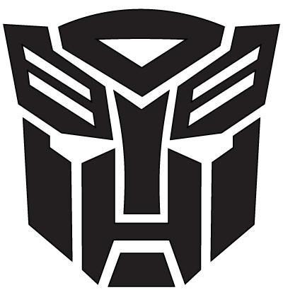 Autobot Vinyl Sticker Transformer Logo Autobots Logo Transformers