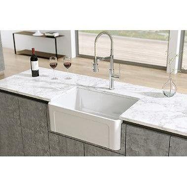 Fireclay Kitchen Sinks Ideas 2019 Latoscana Ltw3619w White 36